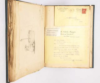 Commonplace Book of teenage artist Ethel Shearer, compiled before she rose to membership in the Association of San Francisco Women Artists