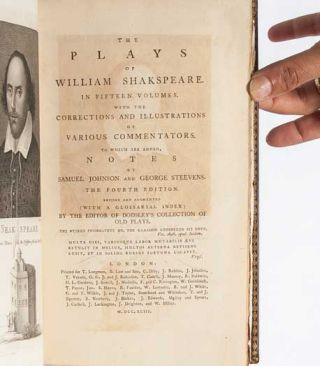 Image 5 of 7 for The Plays of William Shakespeare (Extra-Illustrated