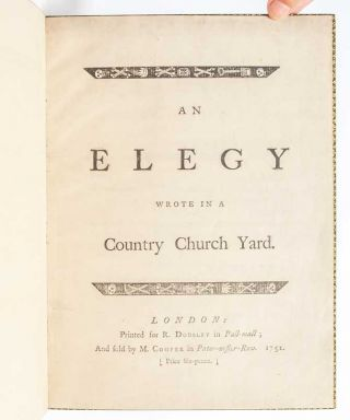 Image 6 of 10 for Elegy Wrote in a Country Church Yard
