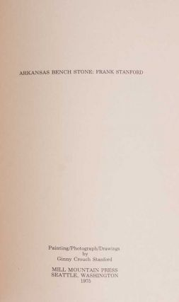 Image 4 of 5 for Arkansas Bench Stone (Signed First Edition