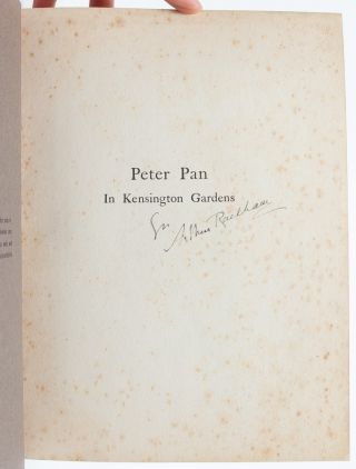 Image 5 of 6 for Peter Pan in Kensington Gardens (Signed by Rackham