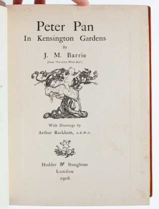 Image 7 of 9 for Peter Pan in Kensington Gardens (Signed by Rackham