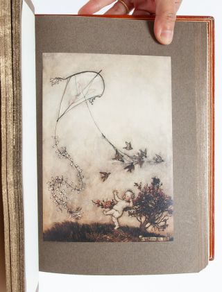 Peter Pan in Kensington Gardens (Signed by Rackham)