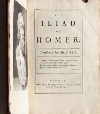 Image 2 of 16 for The Iliad of Homer, Translated by Mr. Pope (in 6 volumes