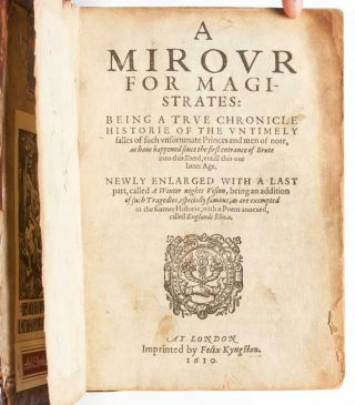 Image 4 of 7 for A Mirour for Magistrates: Being a True Chronicle or Historie of the Untimely...