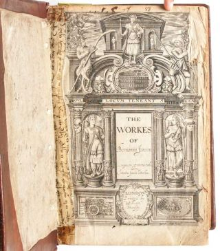 The Workes of Benjamin Jonson. [together with] The Workes of Benjamin Jonson. The second Volume…