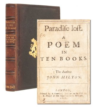 Image 1 of 8 for Paradise Lost. A Poem in Ten Books. The Author John Milton