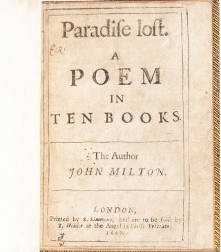 Image 4 of 8 for Paradise Lost. A Poem in Ten Books. The Author John Milton