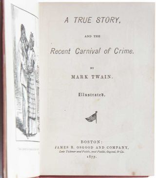 A True Story, and the Recent Carnival of Crime