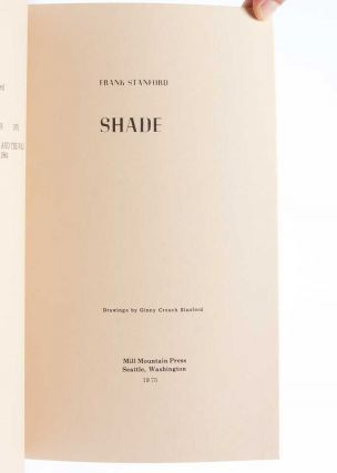 Shade (Signed First Edition)