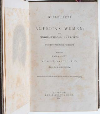 Image 5 of 9 for Noble Deeds of American Women