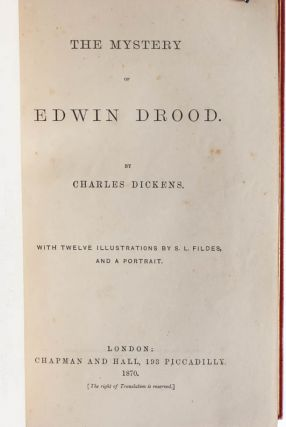 The Mystery of Edwin Drood (Extra-Illustrated)