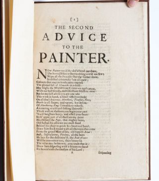 Miscellaneous Poems; [together with:] Advice to a Painter; [and:] Second Advice to the Painter