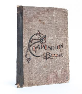 Image 1 of 8 for Composition Copy Book of a Young Girl, including poetry from suffragist Frances...