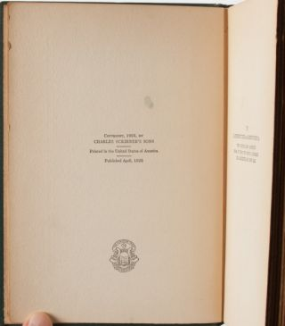 The Vegetable (Inscribed First Edition)