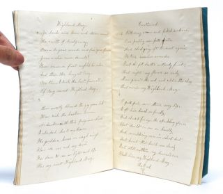 Commonplace Copy Book of a Young Woman in School