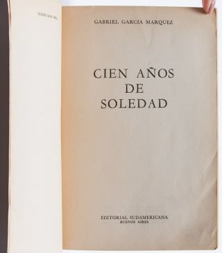 Image 5 of 7 for Cien Anos de Soledad