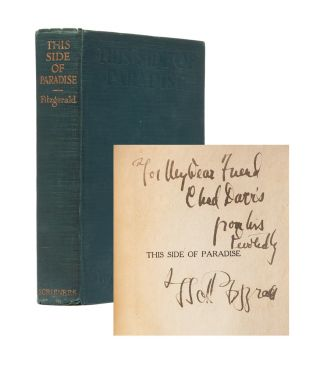 Image 1 of 7 for This Side of Paradise (Inscribed First Edition