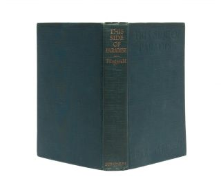 Image 2 of 7 for This Side of Paradise (Inscribed First Edition