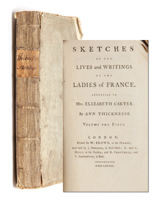 Sketches of the Lives & Writings of the Ladies of France