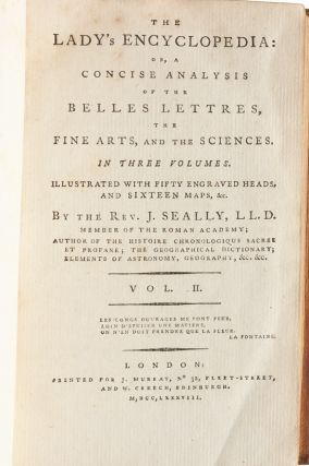 Image 8 of 11 for The Lady's Encyclopedia: or, A Concise Analysis of the Belles Lettres, the Fine...
