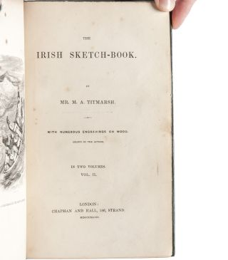 The Irish Sketch-Book (Presentation copy)