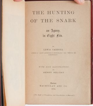 Image 6 of 9 for The Hunting of the Snark (Publisher's Deluxe Binding