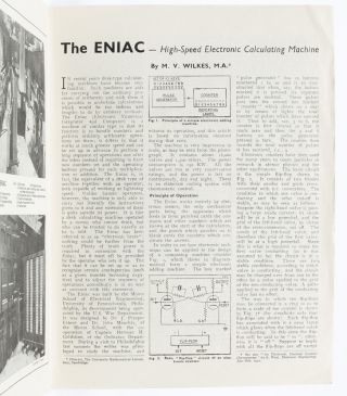 Image 4 of 7 for The ENIAC--high speed calculating machine