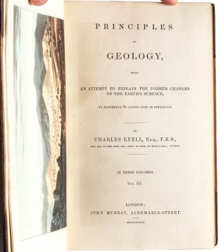 Image 10 of 10 for Principles of Geology (3 vols