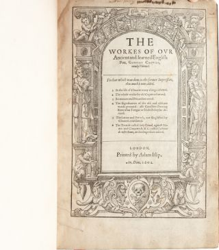 Image 4 of 9 for The Workes of our Ancient and Learned English Poet, Geffrey Chaucer, newly printed