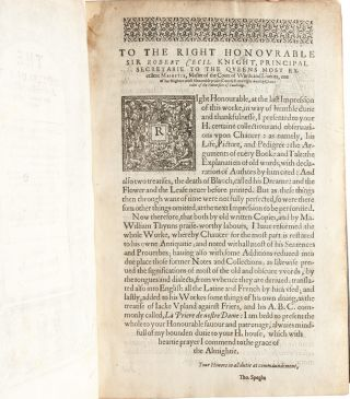 Image 5 of 9 for The Workes of our Ancient and Learned English Poet, Geffrey Chaucer, newly printed