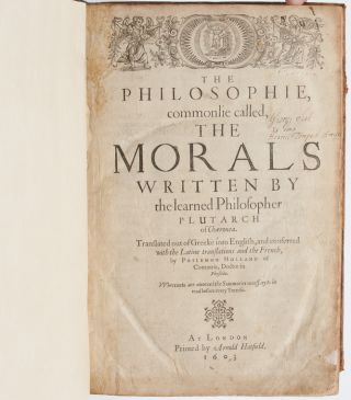 Image 4 of 9 for The Philosophie, commonlie called, The Morals