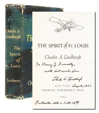 Image 1 of 8 for The Spirit of St. Louis (Presentation copy