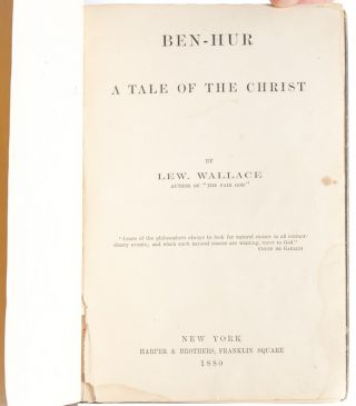Image 4 of 7 for Ben-Hur A Tale of the Christ