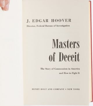 Image 6 of 8 for Masters of Deceit (Inscribed