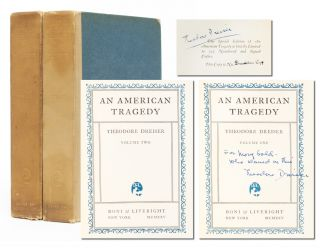 Image 1 of 7 for An American Tragedy (Presentation copy