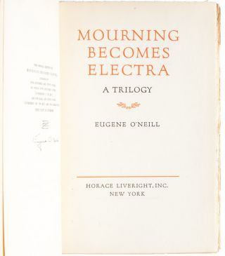 Image 5 of 6 for Mourning Becomes Electra (Signed Ltd. edition