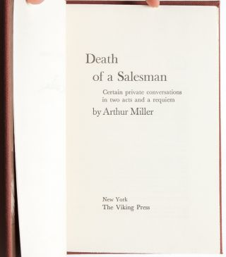 Death of a Salesman (Signed Ltd. Edition)