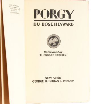 Image 3 of 5 for Porgy (Signed Early Edition