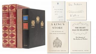 Image 1 of 12 for A King's Story: The Memoirs of the Duke of Windsor [with] The Heart Has its...