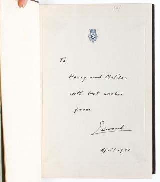 Image 4 of 12 for A King's Story: The Memoirs of the Duke of Windsor [with] The Heart Has its...