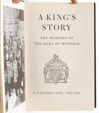 Image 5 of 12 for A King's Story: The Memoirs of the Duke of Windsor [with] The Heart Has its...