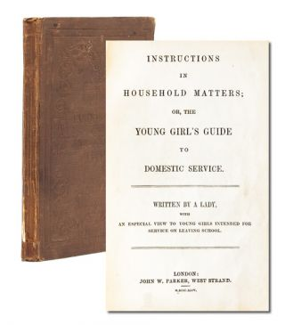 Image 1 of 8 for Instructions in Household Matters, or the Girls' Guide to Domestic Service with...