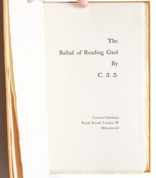 Image 4 of 6 for The Ballad of Reading Gaol