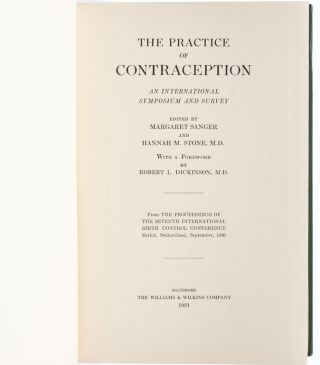 The Practice of Contraception: An International Symposium and Survey