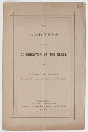 Image 1 of 5 for An Address Upon the Co-Education of the Sexes