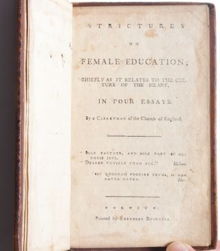 Strictures on Female Education
