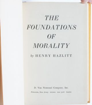 Image 5 of 9 for The Foundations of Morality (Association Copy