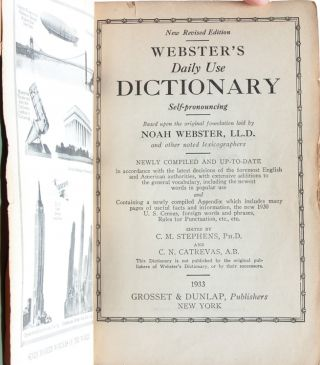 Image 4 of 6 for Webster's Daily Use Dictionary (Association Copy