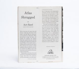 Image 4 of 9 for Atlas Shrugged (Presentation Copy